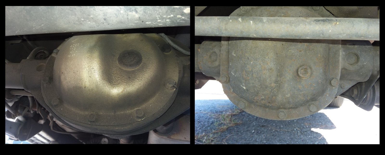 How to identify axles on a Jeep Wrangler TJ (and what the