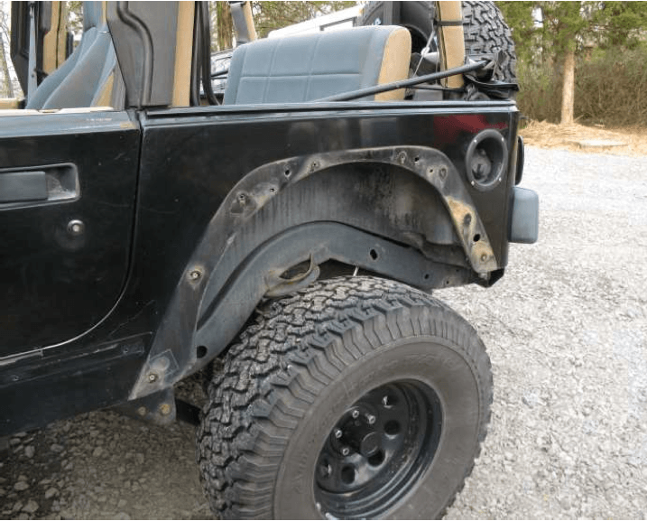 To Fender Or Not To Fender Jeep Wrangler Tj Forum