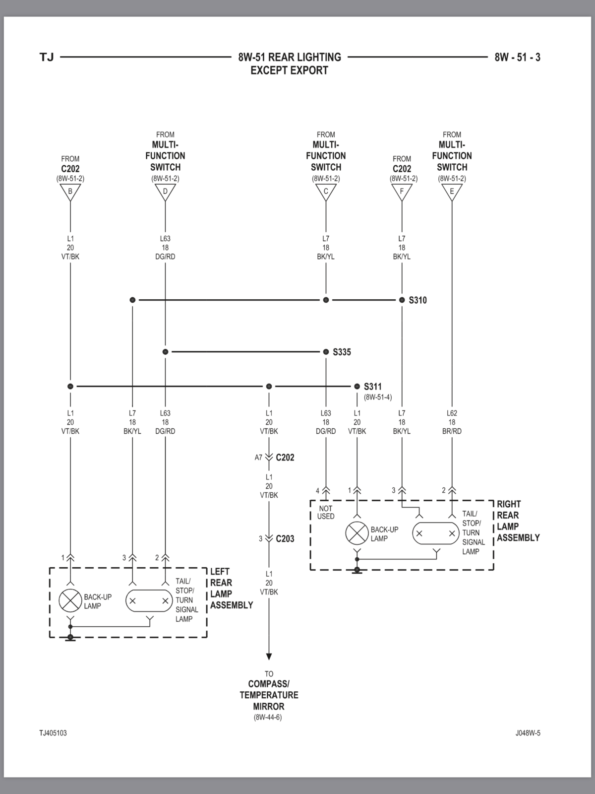 Wiring    Guide or    Diagram         Jeep       Wrangler    TJ Forum