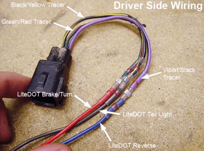 Tail Light Wiring? | Jeep Wrangler TJ Forum | Wrangler Tail Light Wiring Harness Diagram |  | Jeep Wrangler TJ Forum
