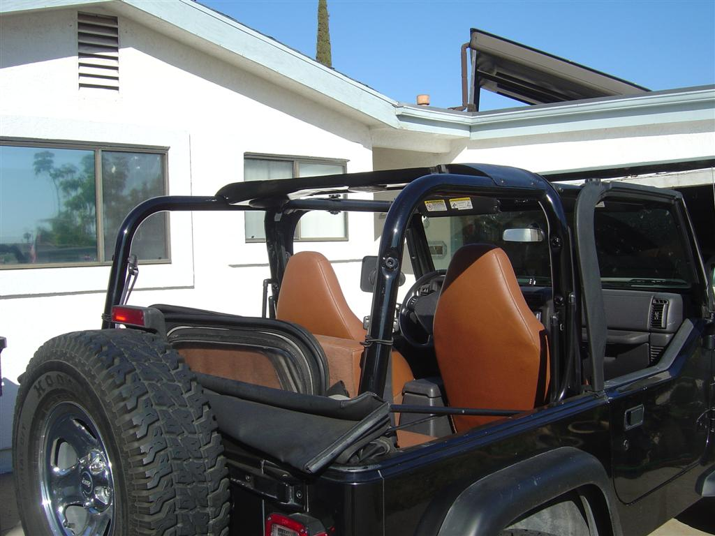 New Roll Bar Covers Without Padding Jeep Wrangler Tj Forum