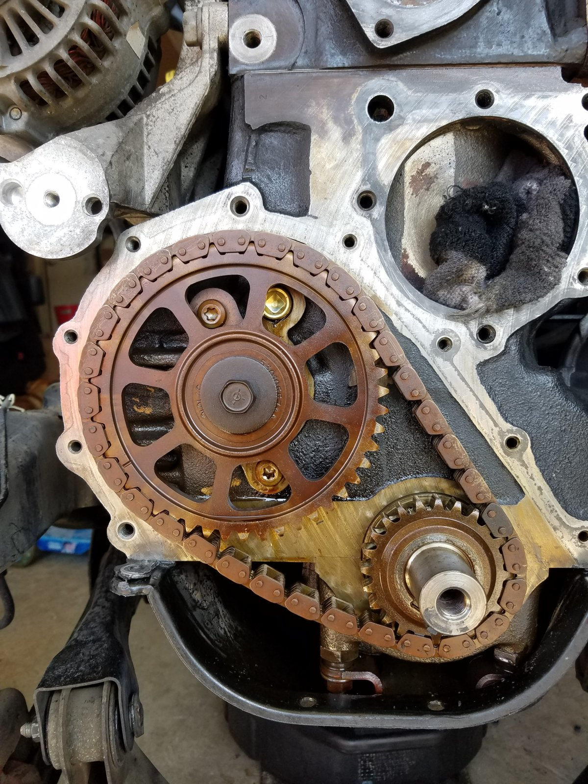 What does it typically cost to replace a timing chain