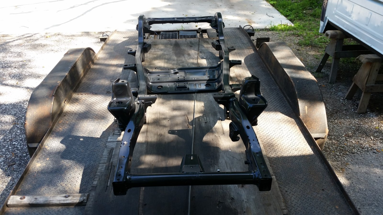 Looking to sell TJ frame | Jeep Wrangler TJ Forum