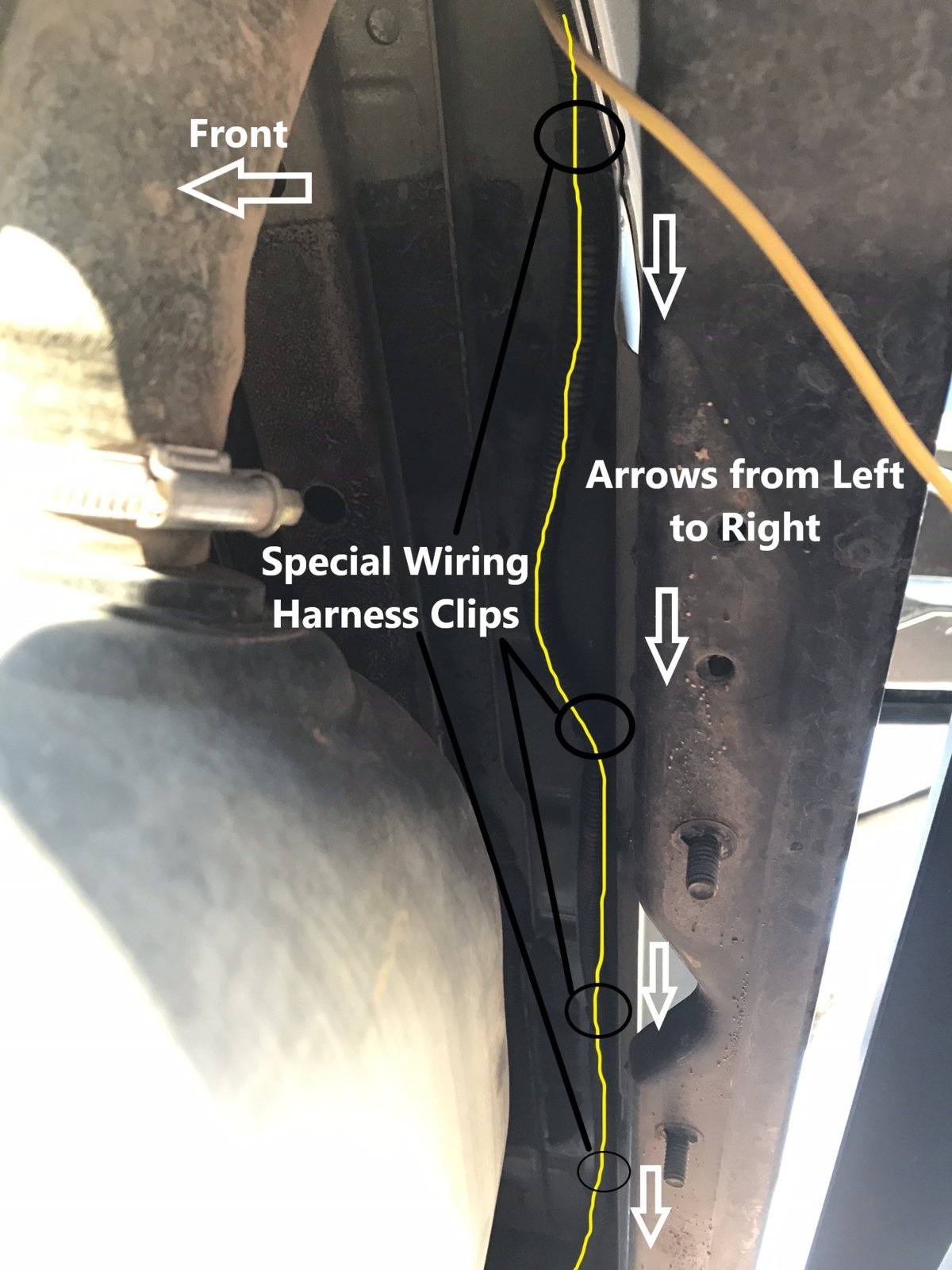 How To Factory Wire Your Tj For A Hardtop Part 2 Rear Tub Harness Wiring Diagram Grommets Clips 35jpeg