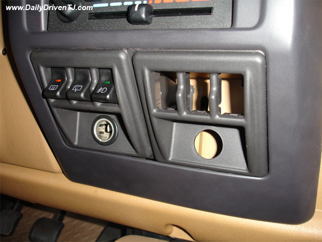 Switch Pod That Take Factory Style Switches Jeep