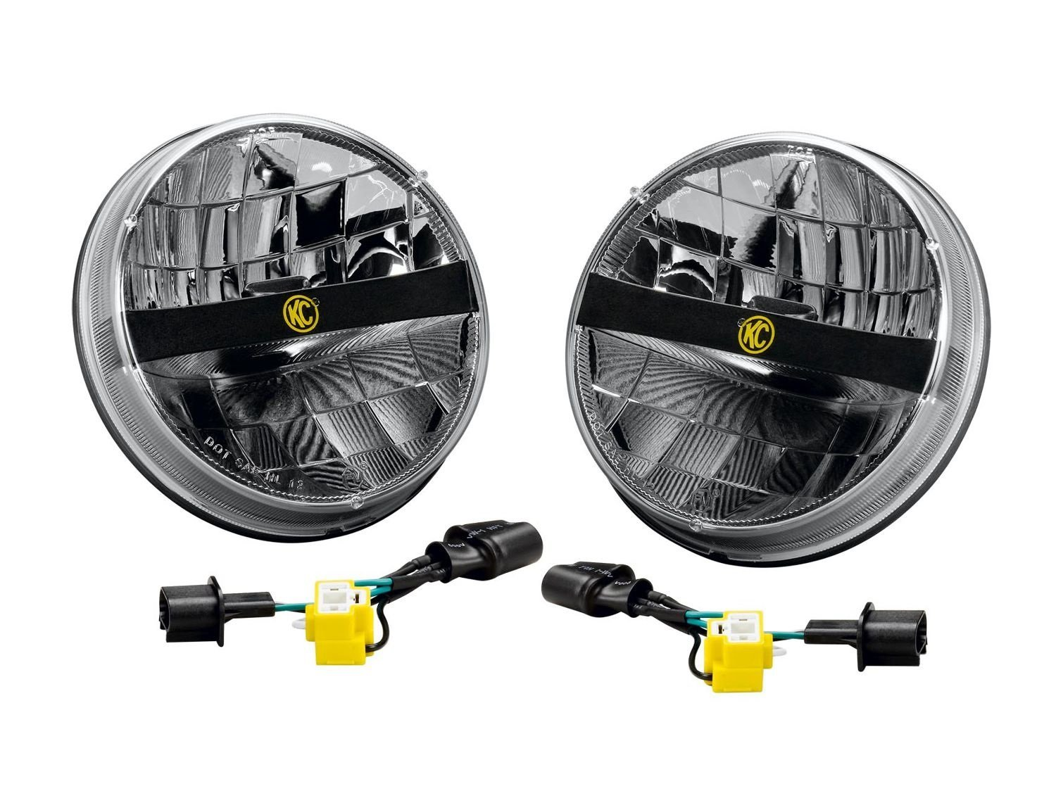 sticky jeep wrangler tj led headlight upgrade options jeep Headlight Wiring Harness Replacement at fashall.co