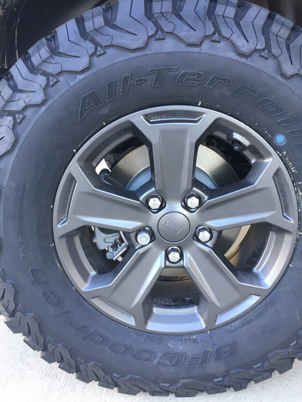 Does Lug Nut Heft Size Other Than Thread Size Type Matter Jeep Wrangler Tj Forum