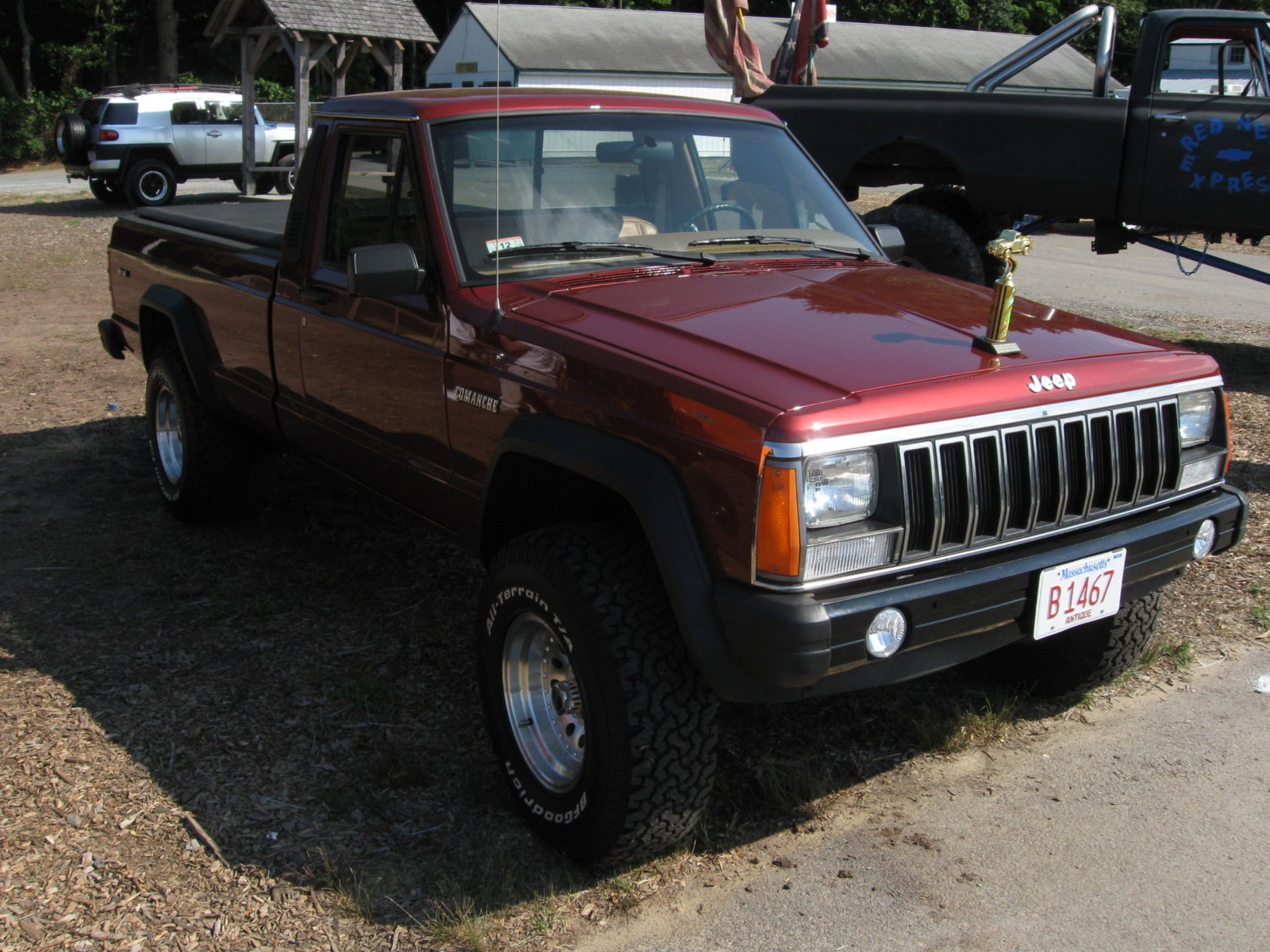 Would you ever a Jeep truck