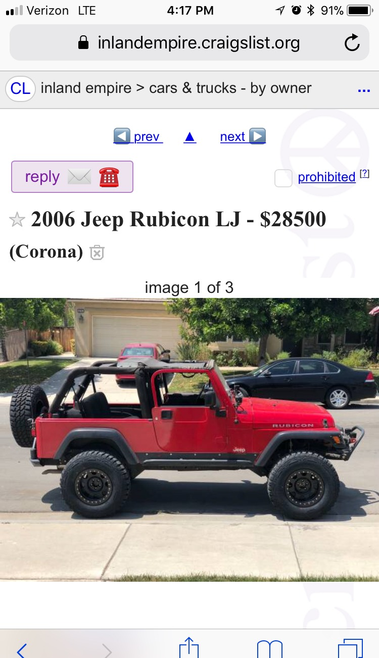 Craigslist Inland Empire Cars And Trucks By Owner >> Top 10 Punto Medio Noticias Craigslist Inland Empire Car Parts For