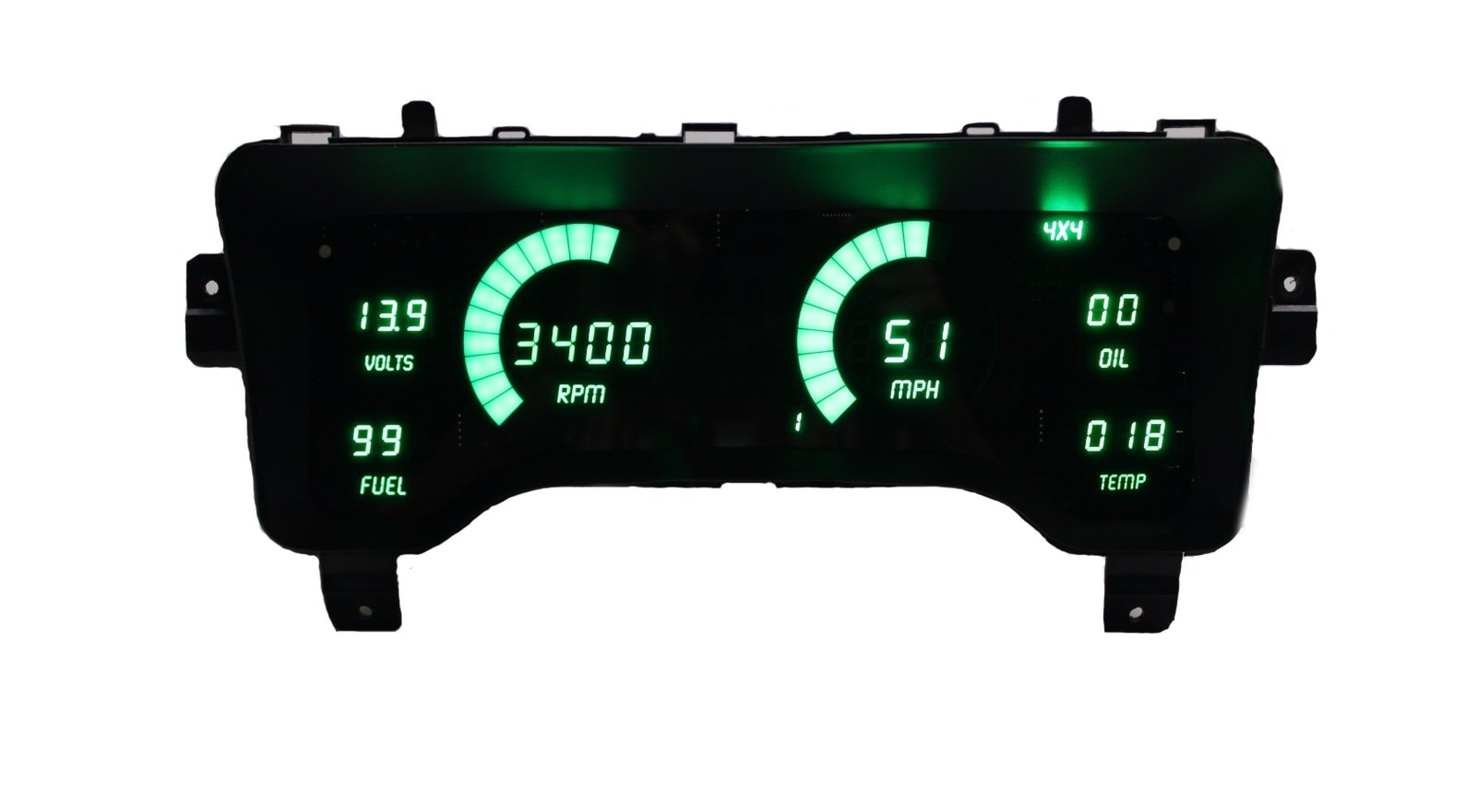 just heard about these new intellitronix tj led direct replacement dash  instrument cluster panels, check them out