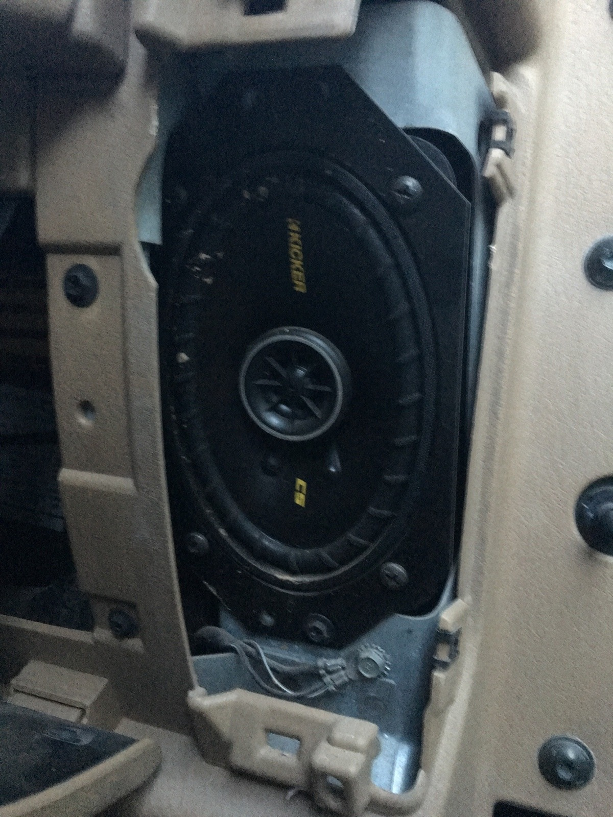 Front Dash Speakers Jeep Wrangler Tj Forum