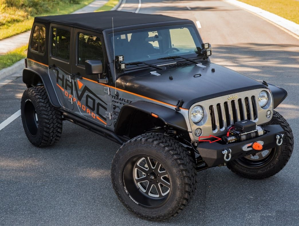 What Is The Best Winch For My Jeep Wrangler Tj Forum How To Wire A And Here That Link More Pics Of This Guy Https Caridcom Gallery Fuel Off Road Rims Wrapped With 37 Tireshtml