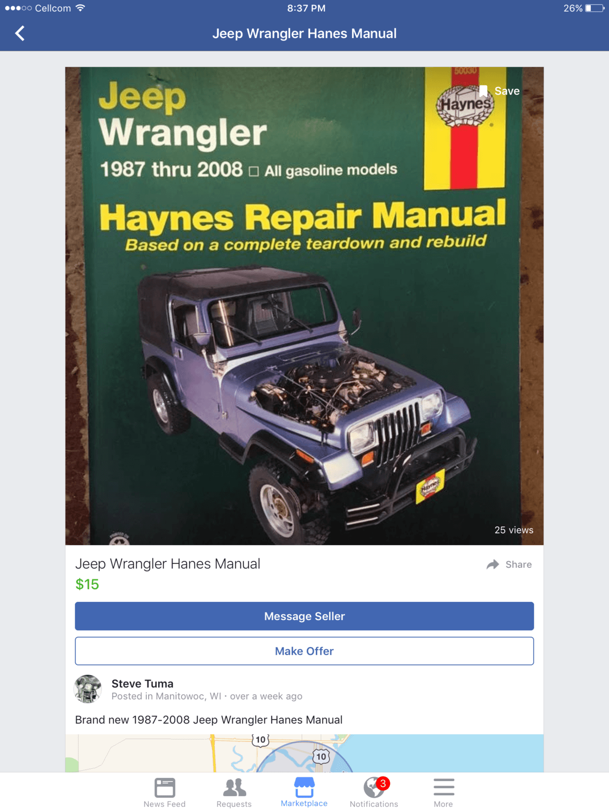 I own a 2000 tj sport . Will this manual help me as I fix my jeep up?