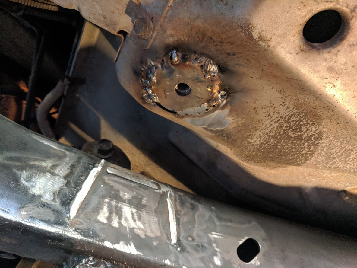 How-to Repair Body Mounts | Jeep Wrangler TJ Forum