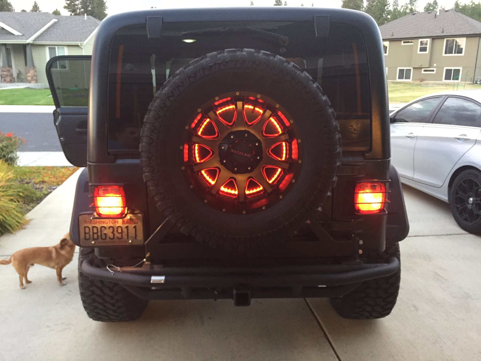 3rd Brake Light Mod Jeep Wrangler Tj Forum