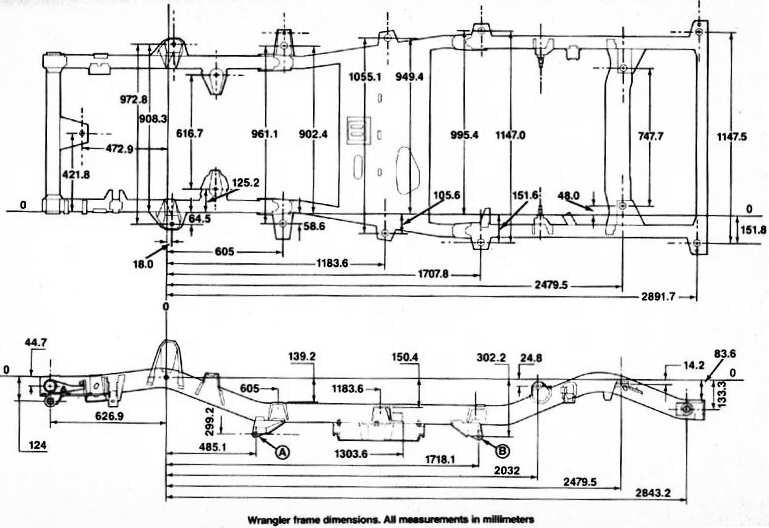 tj frame diagram schematics wiring diagrams \u2022