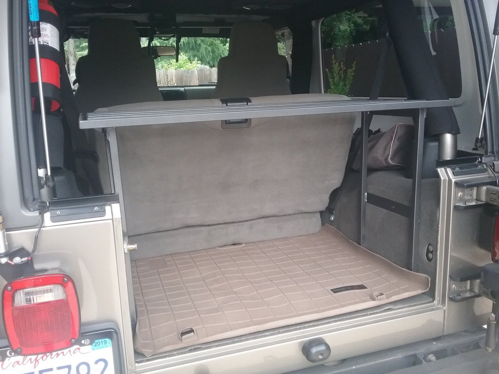 2018 Jeep Wrangler Interior >> DIY Interior Cargo Rack for LJ | Jeep Wrangler TJ Forum