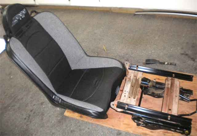 Replacing my tired uncomfortable seats with PRP suspension
