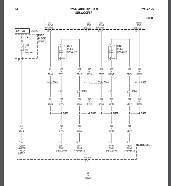 Diagram Jeep Tj Subwoofer Wiring Diagram Free Picture Full Version Hd Quality Free Picture Sewingmachinediagram Potrosuaemfc Mx