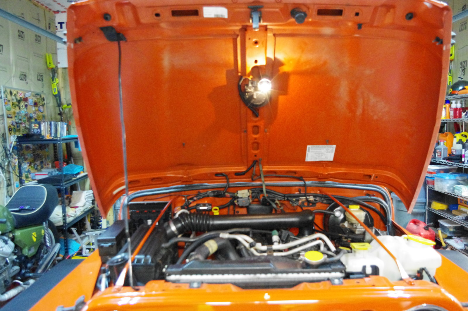 Upgrading The Underhood Light Jeep Wrangler Tj Forum 1997 Under Hood Wiring Diagram View Attachment 28499