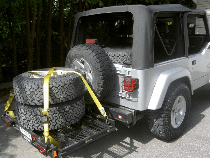 Hitch Mounted Cargo Carrier Jeep Wrangler Tj Forum