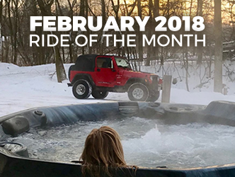 February 2018 Ride of the Month