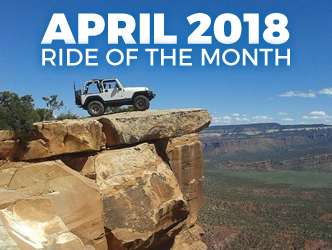 April 2018 Ride of the Month