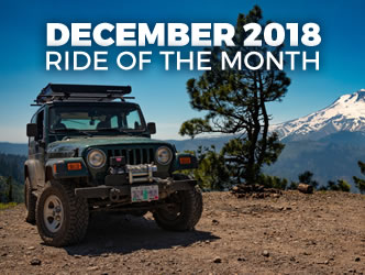 December 2018 Ride of the Month