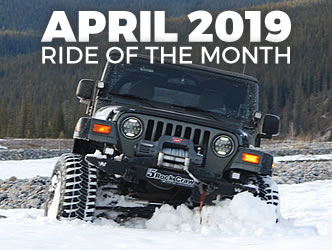 April 2019 Ride of the Month