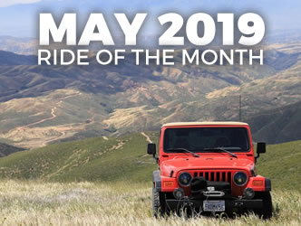 May 2019 Ride of the Month