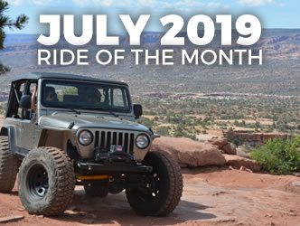 July 2019 Ride of the Month