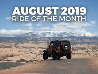 August 2019 Ride of the Month
