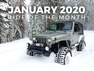 January 2020 Ride of the Month