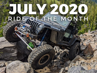 July 2020 Ride of the Month