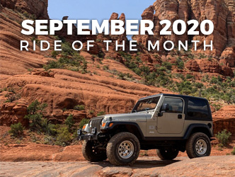 September 2020 Ride of the Month