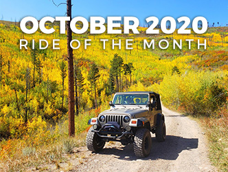 October 2020 Ride of the Month