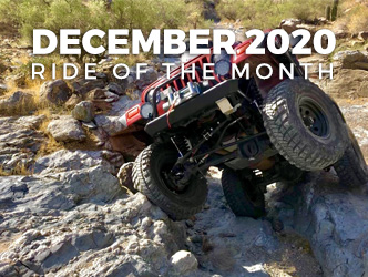 December 2020 Ride of the Month