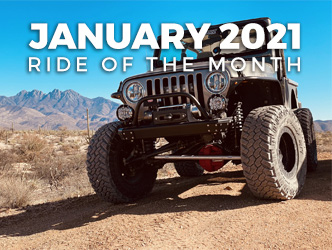January 2021 Ride of the Month