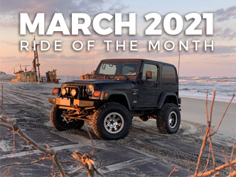 March 2021 Ride of the Month